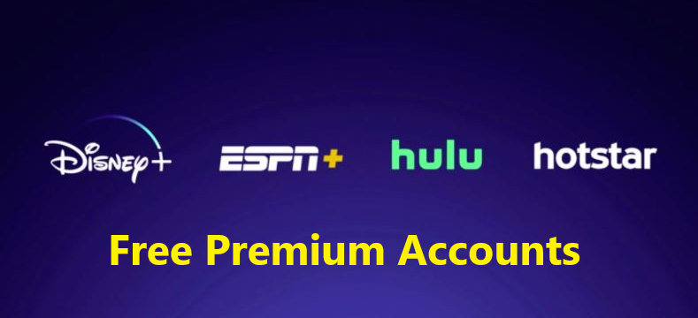 Disney Plus ESPSN + Hulu Hotstar Accounts