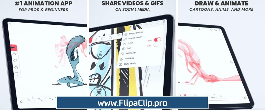 FlipaClip APK Download - 2D Animation and Cartoon Creator for Android and PC