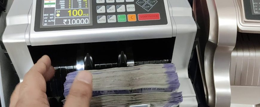 Cash Counting Machines in India